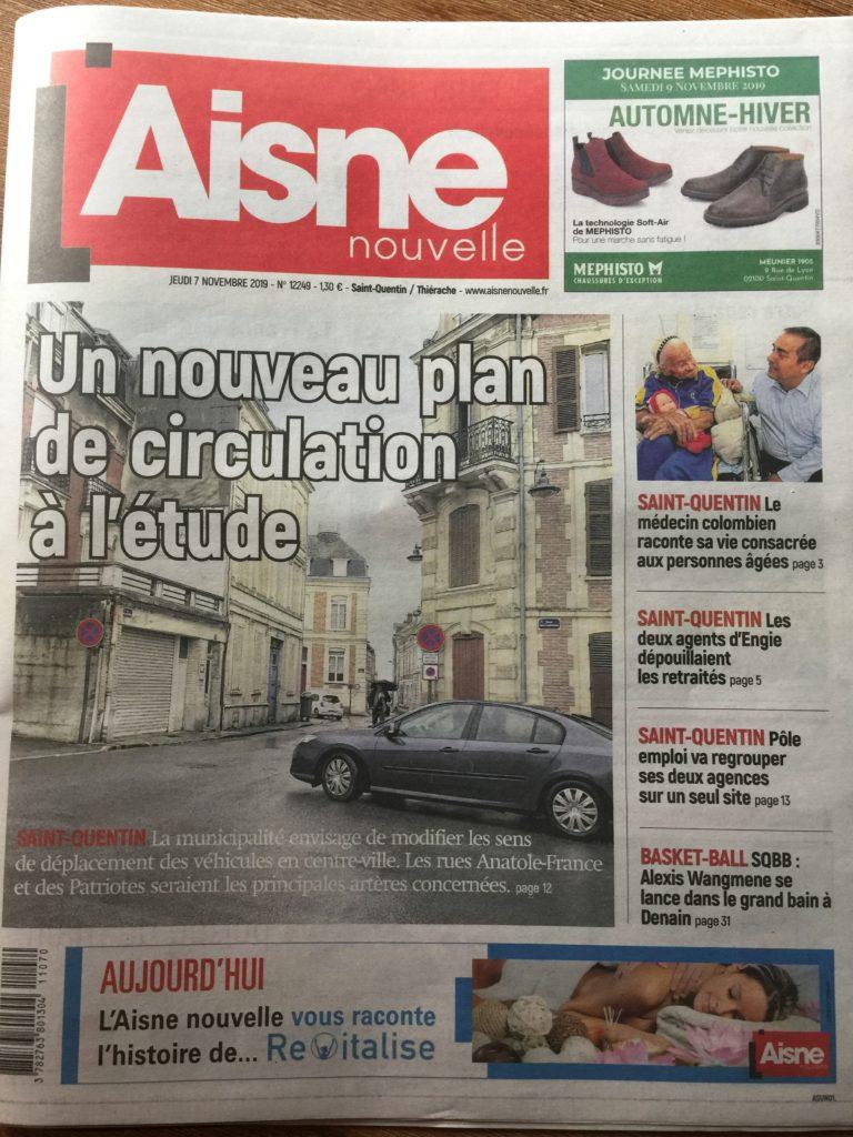 L'AISNE NOUVELLE L'HYPNOSE DU BONHEUR